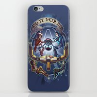 borderlands iPhone & iPod Skins featuring Tales from the Borderlands - Do it for Her by animatenowsleeplater