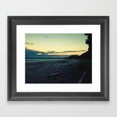 Ohope Sunset Framed Art Print