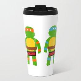 Naughty Ninja Turtles Travel Mug