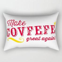 Make COVFEFE great again! Rectangular Pillow
