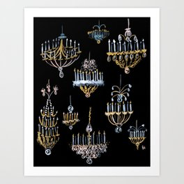 Hall of Mirrors Art Print