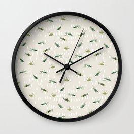 Mantis & Locusta Wall Clock