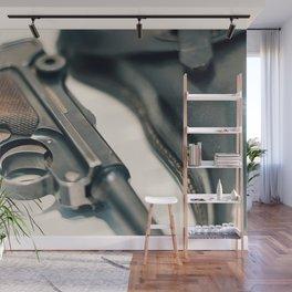 Luger P08 Parabellum handgun. Wall Mural