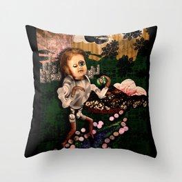 Sundae Frolick Throw Pillow
