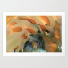Colored Glass II Art Print