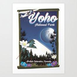 Yoho National park Canada Art Print