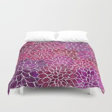 Floral Abstract 18 Duvet Cover