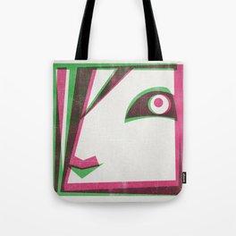 Two tone girl Tote Bag