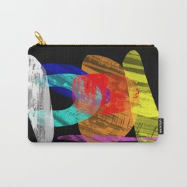 Pastel Pieces - Abstract, pastel artwork Carry-All Pouch