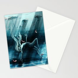 Dance of the Waterlily Stationery Cards