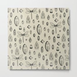 Insects Metal Print