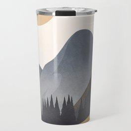 Minimalistic Landscape VI Travel Mug