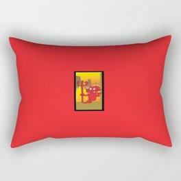 Cartoon Devil Rectangular Pillow