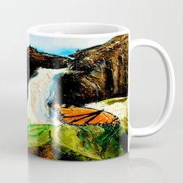 Monarch on Milkweed Coffee Mug