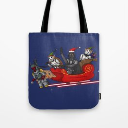 Merry Christmas from the Dark Side Tote Bag