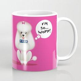 Chic Poodle Coffee Mug