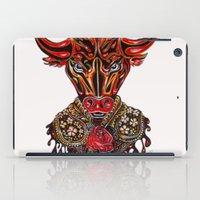 taurus iPad Cases featuring Taurus  by Felicia Atanasiu