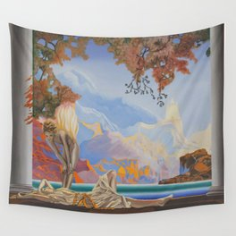 After Maxfield Parrish Wall Tapestry