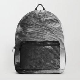 Burst - Black & White Backpack