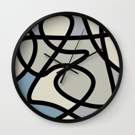 Interconnected Wall Clock