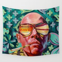 trip Wall Tapestries featuring Bad Trip by Jared Yamahata