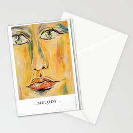 Poster Melody Stationery Cards