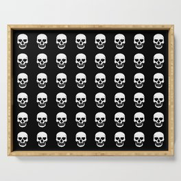 Heart Skulls Serving Tray