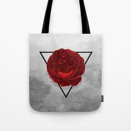 The Rose (white version) Tote Bag