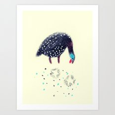 Fowl of Stars Art Print