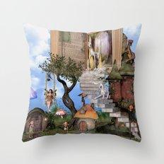 Bringing stories to life Throw Pillow
