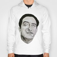 salvador dali Hoodies featuring Salvador Dali by Breanna Speed