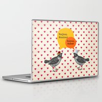 bonjour Laptop & iPad Skins featuring Bonjour! by Sreetama Ray