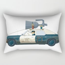 The Blues Brothers Bluesmobile 2/3 Rectangular Pillow