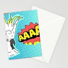 Cockatoo Comic AAAAAA Stationery Cards