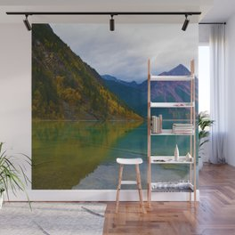 Kinney Lake in Mount Robson Provincial Park, BC / Canada Wall Mural