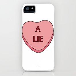 A Lie iPhone Case