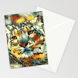 AnimalArt_Leopard_20170602_by_JAMColorsSpecial Stationery Cards