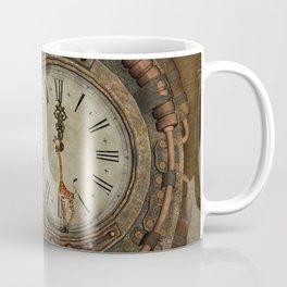 Steampunk, awesome clock Coffee Mug