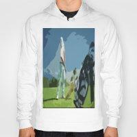golf Hoodies featuring GOLF by aztosaha