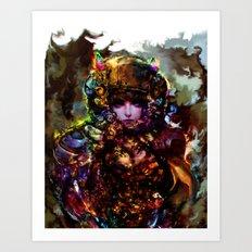 major ghost Art Print