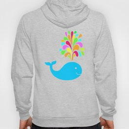 Funny whale Hoody