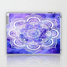 Mandala Violet Blue Galaxy Space Laptop & iPad Skin