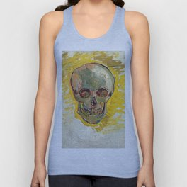 Vincent Van Gogh Skull Unisex Tank Top