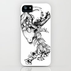 Prehistoric Bloom - The Cat iPhone SE Slim Case