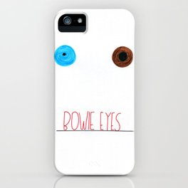 Bowie Eyes iPhone Case