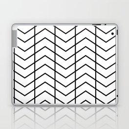 MAYA ((black on white)) Laptop & iPad Skin