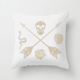 First Sin Throw Pillow