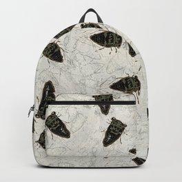 Cicada Pattern Backpack