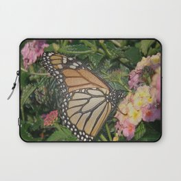 Monarch Butterfly Abstract Laptop Sleeve