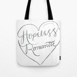 Hopeless Romantic. Tote Bag